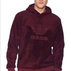 Adidas Mens Sherpa Winterized Pullover